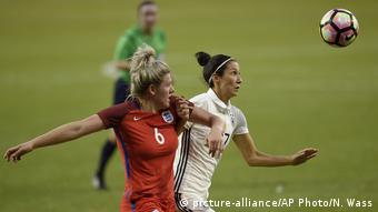 USA Fußball SheBelieves Cup 2017 Deutschland - England (picture-alliance/AP Photo/N. Wass)