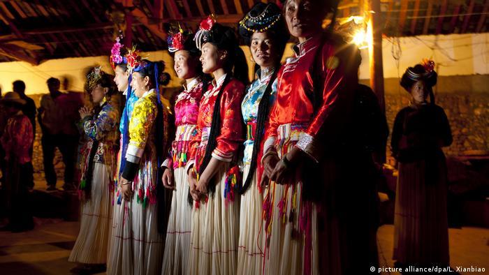 Mosuo Frauen China (picture alliance/dpa/L. Xianbiao)