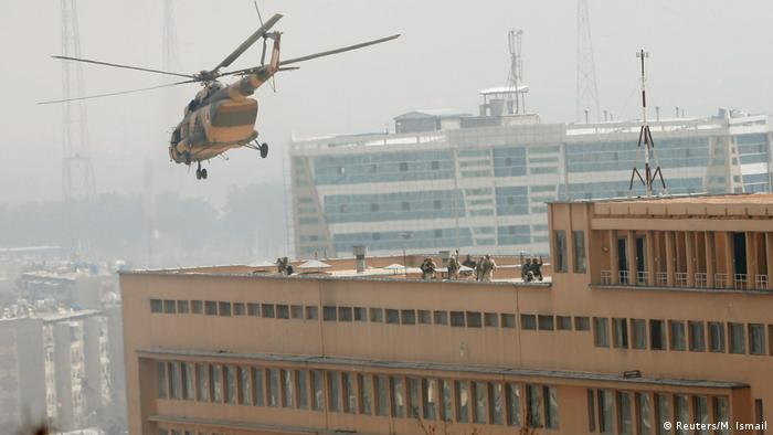 Afghanistan Angriff auf das Militärkrankenhaus in Kabul (Reuters/M. Ismail)