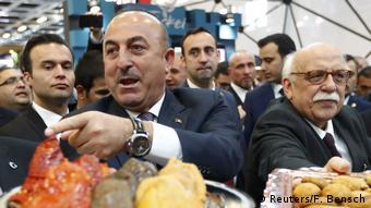 Два турецких министра 8 марта на ярмарке ITB
