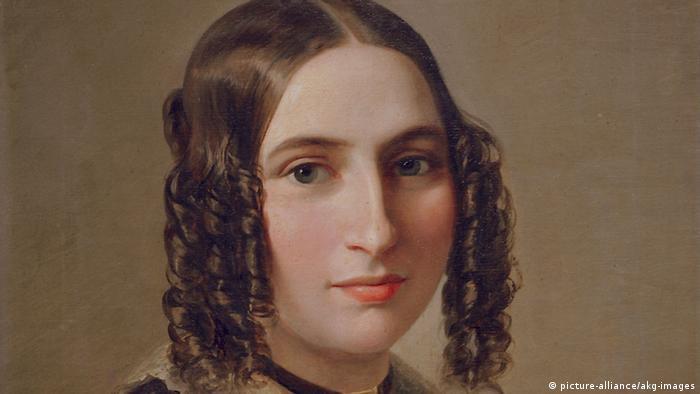 Fanny Hensel Gemälde von M. Oppenheim