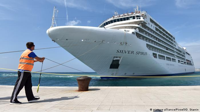 Silversea Cruises Silver Spirit (picture-alliance/Pixsell/D. Stanin)