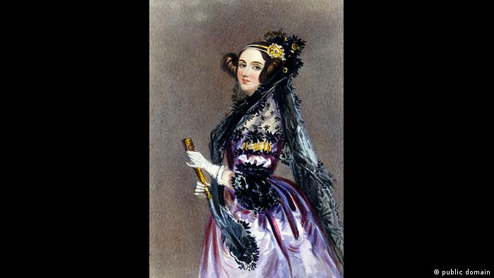 Ada Lovelace (public domain)