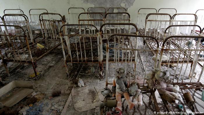 Geisterstadt Tschernobyl Ukraine (picture alliance/dpa/A.Stepanov)