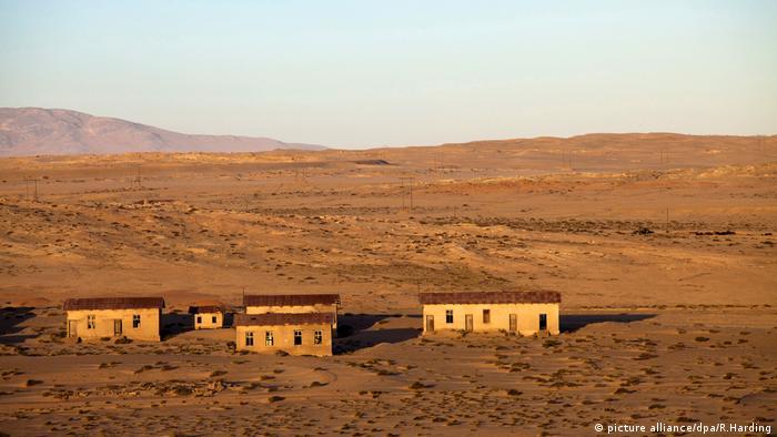 Geisterstadt Namibia Afrika Mine (picture alliance/dpa/R.Harding)