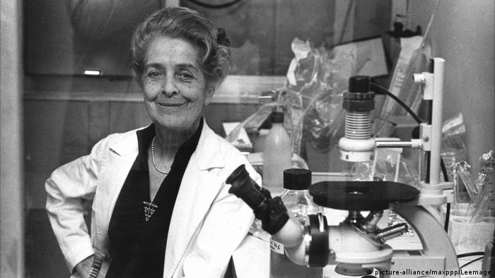 Rita Levi-Montalcini, italienische Neurologin und Neurobiologin (picture-alliance/maxppp/Leemage)