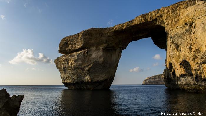 La Ventana Azul de Malta.