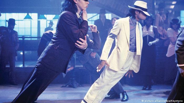 Michael Jackson im Film Moonwalker 1988.
