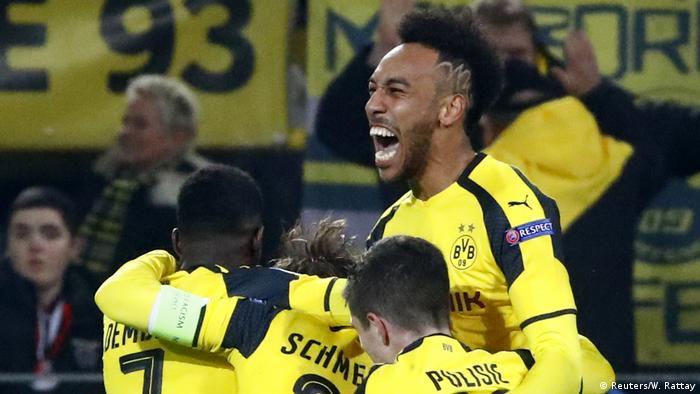UEFA Champions League Borussia Dortmund vs. Benfica Lissabon (Reuters/W. Rattay)