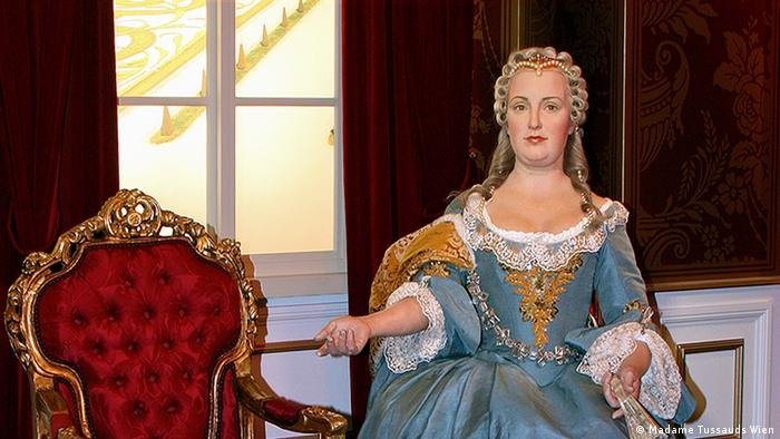 Wax figure of Maria Theresa at Madame Tussauds in Vienna (Madame Tussauds Wien)