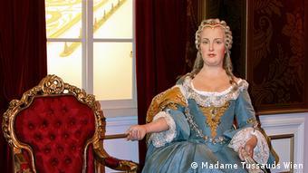 Maria Theresa at Madame Tussauds in Vienna