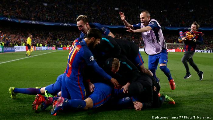 UEFA Champions League - FC Barcelona vs. Paris Saint Germain (picture-alliance/AP Photo/E. Morenatti)