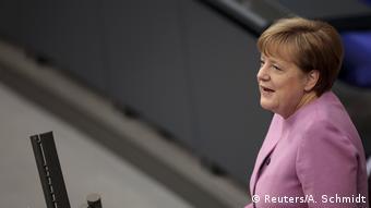 Από τις σημερινές κυβερνητικές δηλώσεις της Α. Μέρκελ στην Bundestag