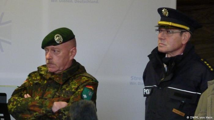 GETEX-Übung Gemeinsame Terror Abwehr Exercise (DW/M. von Hein)