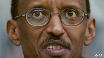 Der ruandische Präsident Paul Kagame (Foto: ap)