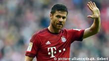 Bundesliga | Xabi Alonso vom FC Bayern München