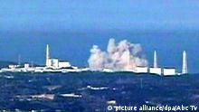 HANDOUT - ARCHIV - Das Videostandbild vom 15.03.2011 zeigt eine Explosion im havarierten Atomkraftwerk Fukushima in Japan. Die Reaktoren des Kraftwerks wurden durch das Erdbeben und den Tsunami schwer beschädigt. Foto: Abc Tv/epa (zu dpa-Hintergrund «Fukushima - Chronik einer Katastrophe» vom 03.09.2013 - ACHTUNG: Nur zur redaktionellen Verwendung bei vollständiger Nennung der Quelle: «Abc Tv») +++(c) dpa - Bildfunk+++ |