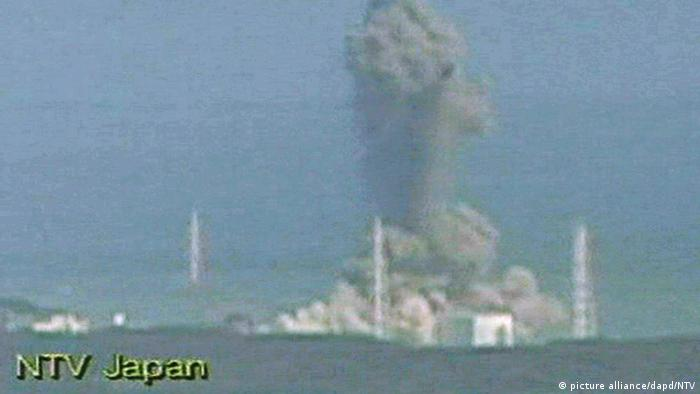 Japan Das Atomkraftwerk in Fukushima explodiert (picture alliance/dapd/NTV)