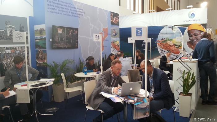 Stand de Moçambique na ITB 2017