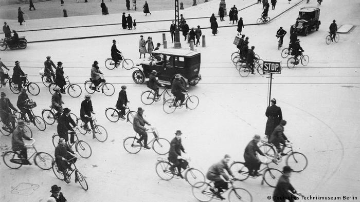 Копенгаген в часы пик. 1925 год.