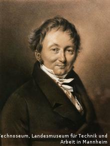 Portrait of Karl von Drais