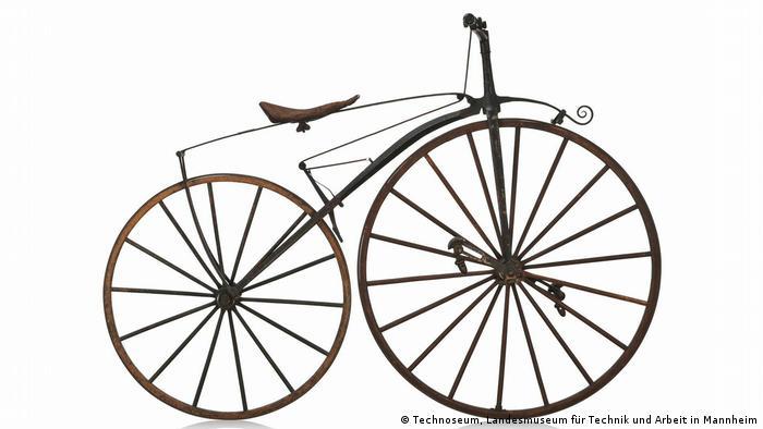 Велосипед Мишо с педалями