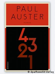 Book cover   4321 by Paul Auster