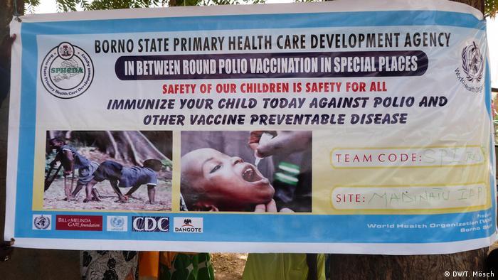 Nigeria | Polio-Impfkampagne in Borno (DW/T. Mösch)