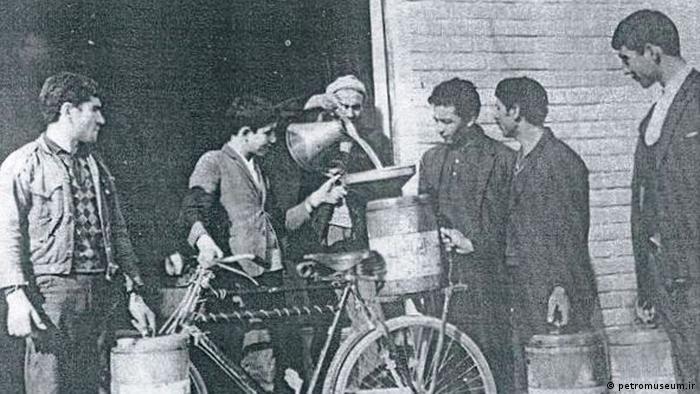 Iran Geschichte der Ölförderung (petromuseum.ir)