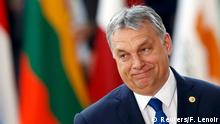 9.3.2017*** Hungarian Prime Minister Viktor Orban arrives at the EU summit in Brussels, Belgium, March 9, 2017. REUTERS/Francois Lenoir