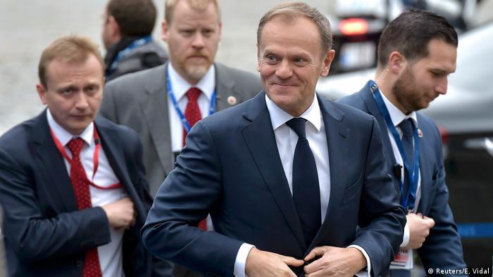 Belgien EU-Gipfel in Brüssel   Donald Tusk (Reuters/E. Vidal)
