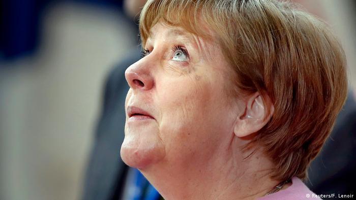 Brüssel - EU-Gipfel - Kanzlerin Angela Merkel