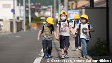 Japan Kinder in Fukushima