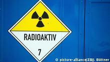 Symbolbild Radioaktivität - Atommüll