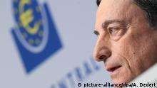 Deutschland EZB PK in Frankfurt Mario Draghi