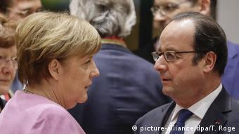 Merkel-Hollande: un comienzo difícil.