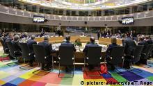 Belgien EU Gipfel in Brüssel