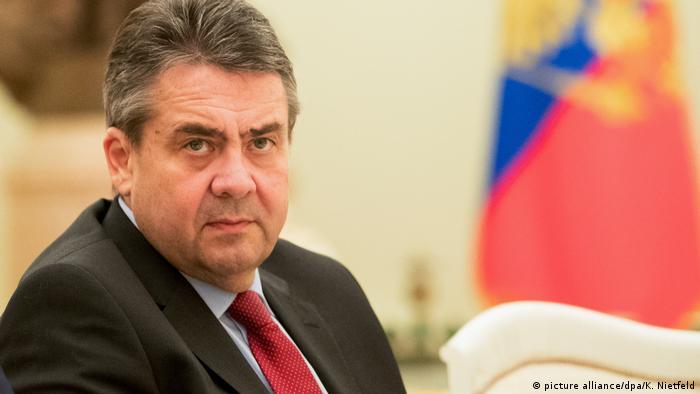 Зигмар Габриэль в Москве