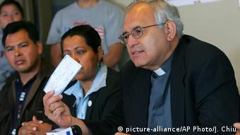 Álvaro Ramazzini, arzobispo de Huehuetenango, en Guatemala.