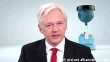 WikiLeaks CIA - Julian Assange (picture alliance/AP Photo)