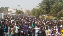 Guinea-Bissau Demonstration in Bissau