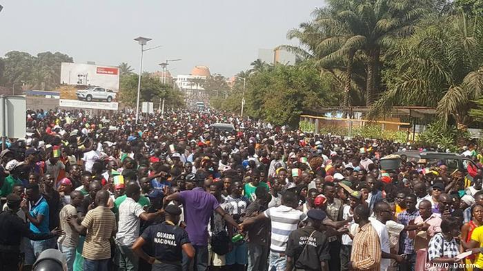 Protesto contra a crise em Bissau (2017)