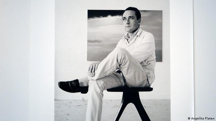 Gerhard Richter in 1971 by photographer Angelika Platen (DW/H. Mund)