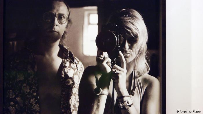 Angelika Platen self-portrait with Sigmar Polke (DW/H. Mund)