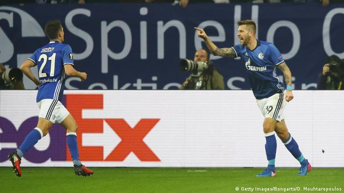Fußball UEFA Europa League FC Schalke 04 - Borussia Mönchengladbach (Getty Images/Bongarts/D. Mouhtaropoulos)