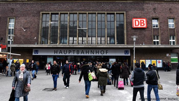 Deutschland Hauptbahnhof in Düsseldorf