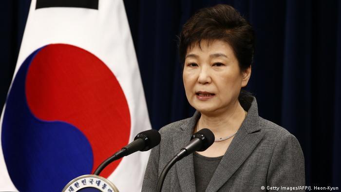 Südkorea Park Geun-Hye (Getty Images/AFP/J. Heon-Kyun)