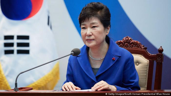 Südkorea Park Geun-Hye (Getty Images/South Korean Presidential Blue House)