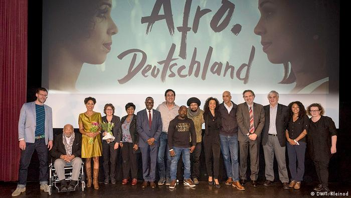At the premiere of the Dw film Afro.Germany (DW/T. Kleinod)