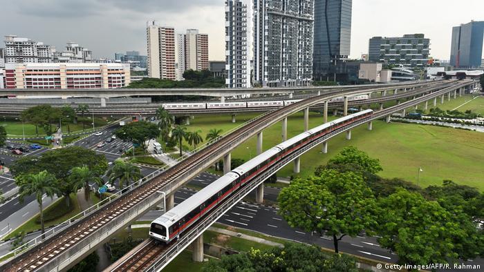 Singapur Mass Rapid Transit (Getty Images/AFP/R. Rahman)